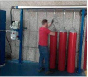 Область применения: Стенды серии CIL позволяют быстро удалять влагу, образующуюся внутри баллона при проведении гидравлических испытаний, или иные загрязнения.