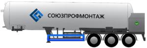 Полуприцепы-цистерны ППЦТК
