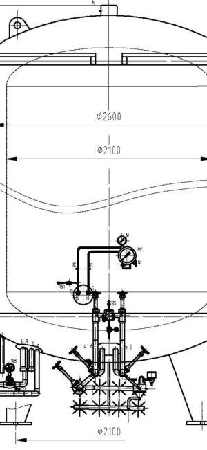 CFL 20m3-0.8MPa LOX,LIN,LAR
